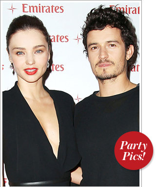 This Week's Hottest Parties: Miranda Kerr and Orlando Bloom Color Coordinate and More