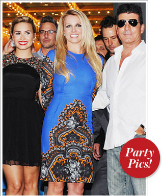 This Week's Hottest Parties: Demi, Britney, and Simon Have the X Factor and More!