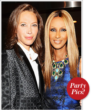 A Supermodel Moment in New York and More Party Photos!