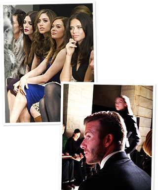 Fashion Week TwitPic Gallery: DKNY, the Beckhams, and More!