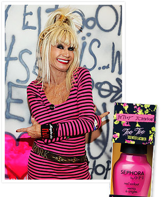 First Look: Betsey Johnson for Sephora by OPI