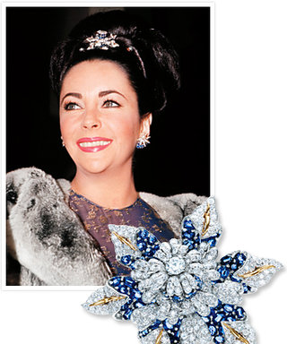 Elizabeth Taylor's Beautiful Brooch: Now Back at Tiffany's