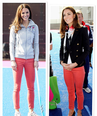 Kate Middleton Tries Colored Jeans: Have You?