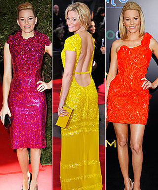 The Hunger Games: Elizabeth Banks's Bright Red Carpet Style