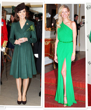 Who Wore Green on St. Patrick's Day?