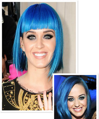 Katy Perry's Latest Hairstyle: Blunt Bangs