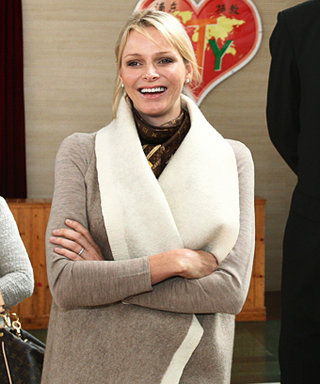 The Princess Style Diaries: Charlene Wittstock's Chic Wrap