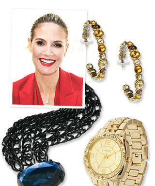 Heidi Klum's New Jewelry Designs for QVC: Now Available