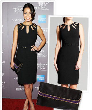Found it! Jamie Chung's Chic Outfit
