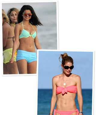 New Celebrity Bikinis: Selena Gomez, Doutzen Kroes, and More!