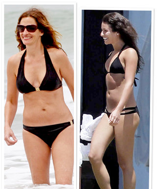 New Celebrity Bikinis: Julia Roberts, Lea Michele, and More