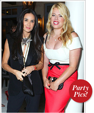 Demi Moore and Amanda de Cadenet Celebrate The Conversation With InStyle
