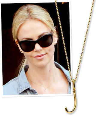 Charlize Theron's Personalized Pendant: In Honor of New Son