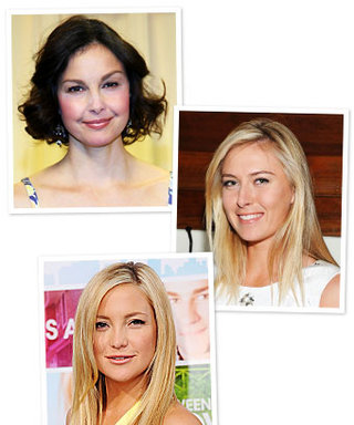Birthday Girls: Maria Sharapova, Kate Hudson, and Ashley Judd
