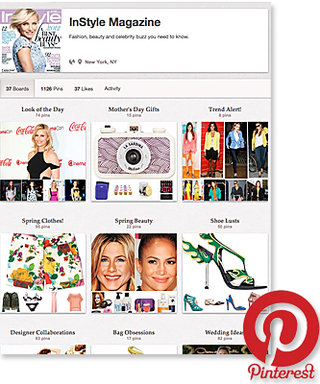 InStyle's Pinterest Page: Check It Out!