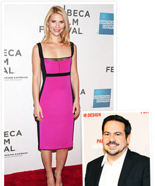 Narciso Rodriguez Texts Claire Danes on the Red Carpet
