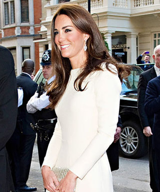 Duchess Catherine's Other White Gown: Roland Mouret!