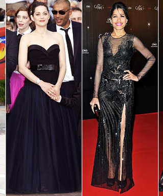 Cannes Film Festival Fashion 2012: Black Gowns on the Riviera