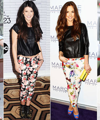 How to Wear Floral Jeans Like a Celebrity