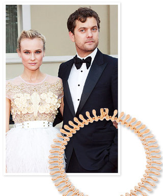 Aw Moment of the Day: Joshua Jackson Bought Diane Kruger This Necklace