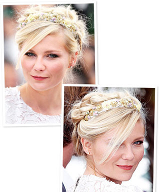Hairstyle Idea to Try: Floral Headband Like Kirsten Dunst