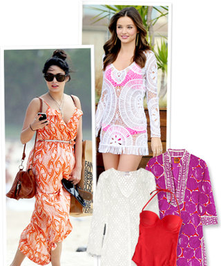 Shop Celebrity-Inspired Summer Cover-Ups
