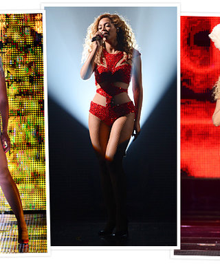 Beyonce's Back! See Her Sparkling New Stage Looks