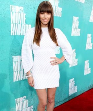MTV Movie Awards 2012: Jessica Biel's Cute Barbara Bui Heels