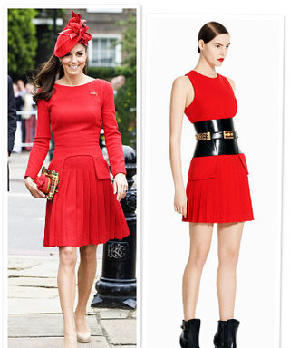 Kate Middleton's Red Diamond Jubilee Dress: Runway to Reality