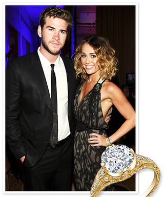 Engaged: Miley Cyrus and Liam Hemsworth