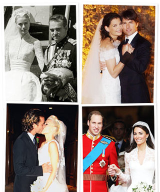 The Best Dressed Celebrity Brides of All Time