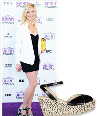 Summer Shoe Shopping: Printed Wedges Like Kirsten Dunst