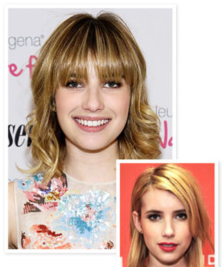 Emma Roberts Got Bangs! Do You Like Her New Look?