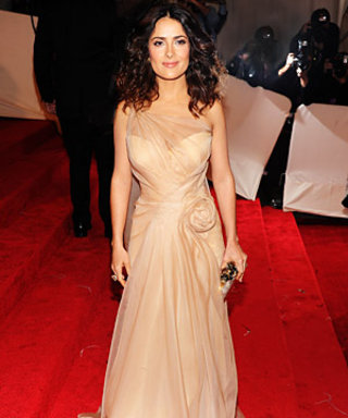 Salma Hayek Remembers One Very Special Alexander McQueen Dress