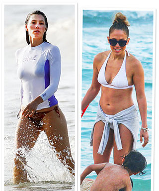 New Celebrity Bikinis: Jessica Biel, Jennifer Lopez, and More