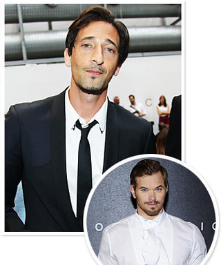 Men's Fashion Week Sexy Celebrity Fans: Kellan Lutz, Adrien Brody, and More