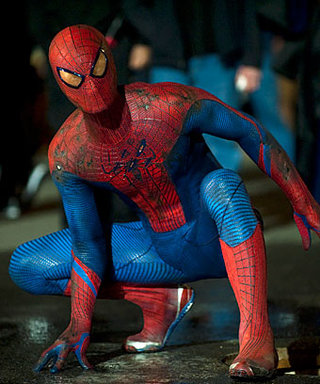 The Amazing Spider-Man's Andrew Garfield Is Flying High