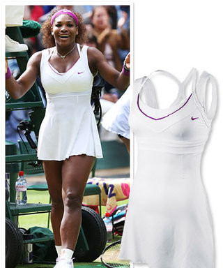 Found It! Serena Williams's White-Hot Wimbledon Look
