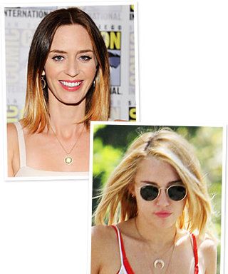New Blond Hairstyles: Miley Cyrus and Emily Blunt