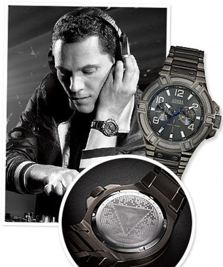 Tiësto Designs Watch and Clothing Collection for Guess
