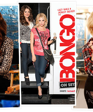 Pretty Little Liars' Lucy Hale and Ashley Benson Model for Bongo