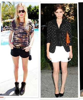 Who Wears Short Shorts? See Celebrities in the Sexy, Leggy Style
