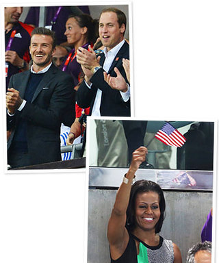 Olympics 2012 Celebrity Fan Spottings: See the Photos