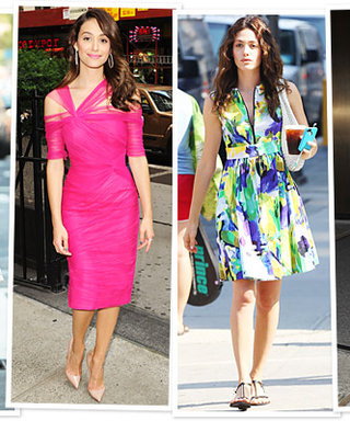 Emmy Rossum's Four Weekend Outfits: Which Would You Wear?
