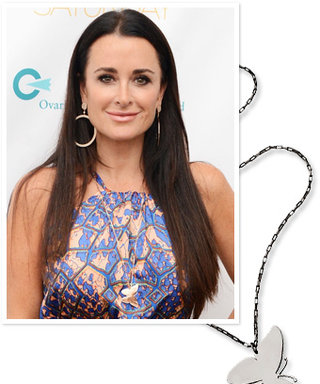 Found It: Kyle Richards's Butterfly Necklace