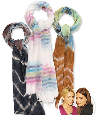 First Look: Mary-Kate and Ashley Olsen Design $30 Scarves for Stylemint
