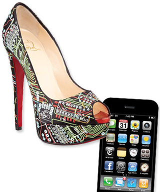 Christian Louboutin Must Be Excited for the New iPhone 5, Too