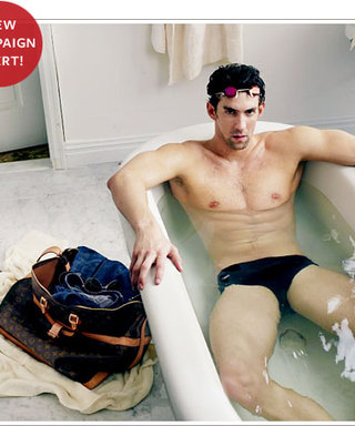 Michael Phelps Goes Swimming for Louis Vuitton