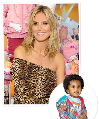 "First Look: Heidi Klum's Adorable Clothes for Babies ""R"" Us"