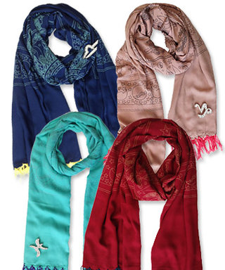 Astrology-Inspired Scarves Perfect for Any Zodiac-Lover